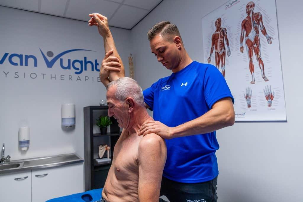 revalidatie fysiotherapie schouder